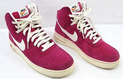 low priced bfed6 5264a Nike Air Force 1 High Blazer Pack Shoes 315121-602 Fuchsia Pink Suede Size  10