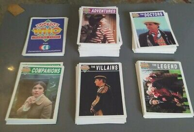 Job Lot Of 148 Doctor Who Cornerstone 1994 Trading Cards (Mint)