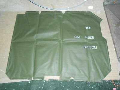 Canvas Cover magnetic MAN SV Army Vehicle windscreen cover Hardly used.