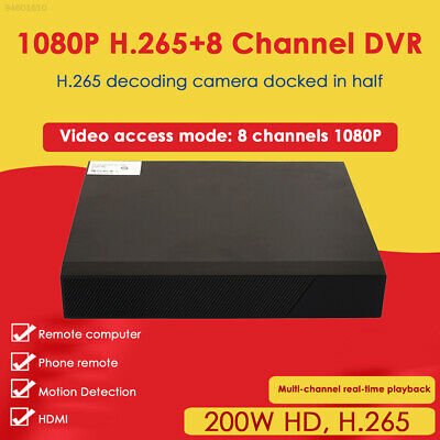 228C 12V/2A Network Video Recorder POE Remote Durable 8CH NVR Network Camera