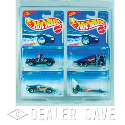 Dealer Dave Hot Wheels RACING METALS SERIES Set/FREE 4-Car Protecto-Pak (#2)
