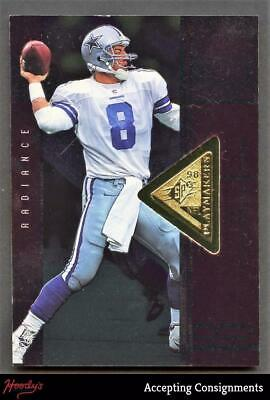 1998 SPx Finite Radiance #98 Troy Aikman PM 0141/2750 COWBOYS