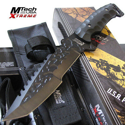 """Covert Ops 12"""" Tactical Survival Bowie Hunting Knife Fixed Blade - MTech Xtreme"""