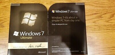 Microsoft Windows 7 Ultimate, 32-Bit, Full Version, Free Shipping in the U.S.A.