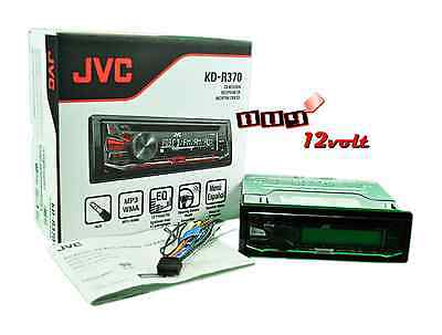 JVC KD-R370 In-Dash CD/MP3/WMA Car Stereo Receiver w/Dual AUX,3-Band Equalizer