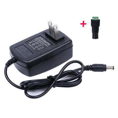 Ac To Dc 12V 2A Power Supply Adapter Charger For Camera / Led Strip Light 24W #2