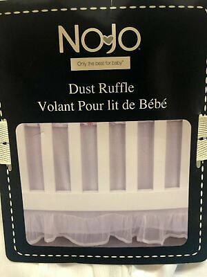 Little Love by Nojo Separates Dust Ruffle Ivory White Perfect For Any Decor [J]