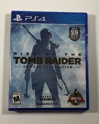 Rise of the Tomb Raider: 20 Year Celebration PS4 (Sony PlayStation 4) Fast Ship