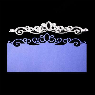 Invitation Card Lace Border Floral Borderlines Metal scissors paper Cutting Dies