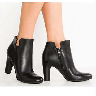 9a972e240 SAM EDELMAN CAMBELL Black Leather Boots Booties size 7 -  54.99 ...