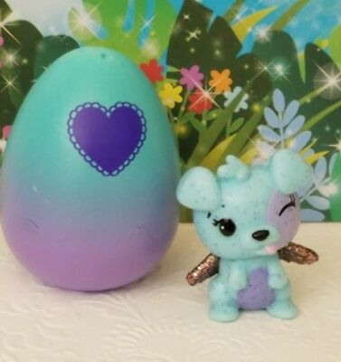 Hatchimals Colleggtibles Sparkly Spring Series SPARKLY PANDOR Green Mint OOP
