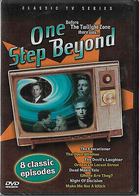 One Step Beyond - Vol. 4: 8 Classic Episodes (NEW DVD 2005) Classic TV Series