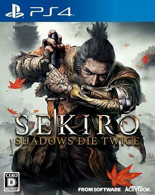USED PS4 SEKIRO: SHADOWS DIE TWICE JAPAN PlayStation 4 import Japanese game