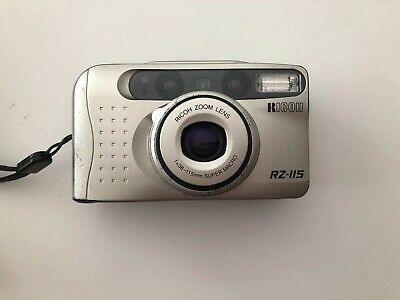 Ricoh RZ-115 35mm Film Point and Shoot Camera Made **TESTED**