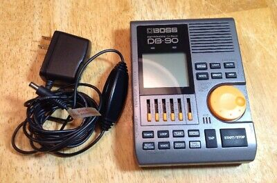 Boss DB-90 Talking Dr. Beat Metronome With PSA Adapter Mint