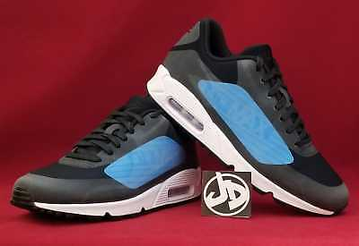 NIKE AIR MAX 90 NS GPX RUNNING SHOES Men's Size 9 BLACK BLUE