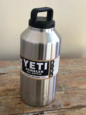 64 oz = 1890 ml YETI Rambler Vacuum insulated Stainless bottle with cap