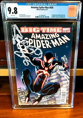 Amazing Spiderman #650 CGC 9.8 1st App of Spidey Stealth Suit FAR FROM HOME NM