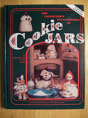 VINTAGE COOKIE JARS $$$ id PRICE VALUE GUIDE BOOK 310 PAGES HARDBACK