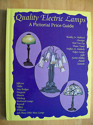 Vintage ANTIQUE ELECTRIC LAMP LIGHTS PRICE GUIDE COLLECTORS BOOK