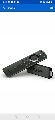 Fire TV Stick with all-new Alexa Voice Remote, streaming media player 4K HDR