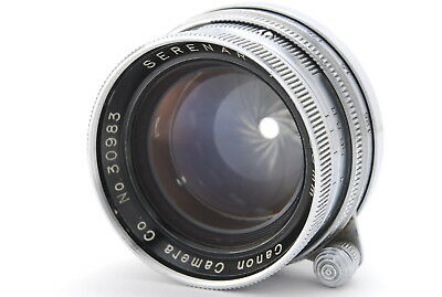 [Exc+++++]  Canon Serenar 50mm f/1.9 Lens for Leica L Mount LTM M39 From JAPAN