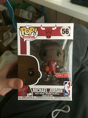 Funko Pop Michael Jordan Chicago Bulls 56 NBA Target Exclusive IN HAND