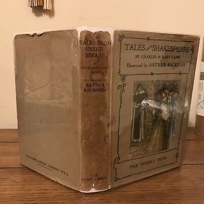 Charles & Mary Lamb,Tales From Shakespeare (1909), 1st Edition, Rackham