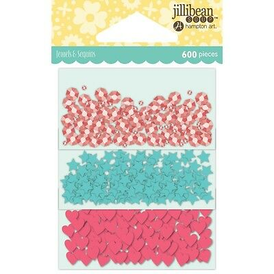 Jillibean Soup - Shaker Card Sequin Pack - Birthday W/Shapes, 200/Pkg