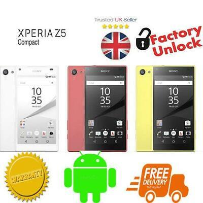 Sony Xperia Z5 Compact 4.6 inch Display 32GB 23MP Camera New Sealed Pack Unlock