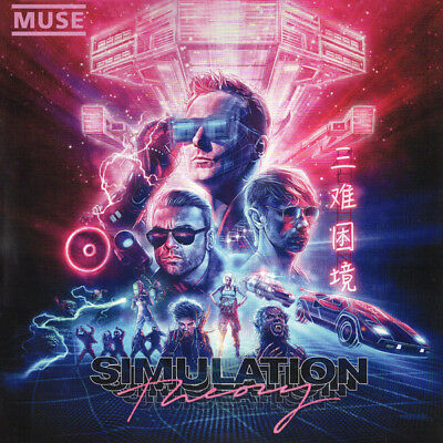 "Muse "" Simulation Theory "" 2018  Cd !"