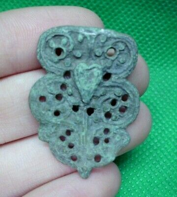 Ancient Celtic Druids Bronze Openwork Amulet - 200 Bc