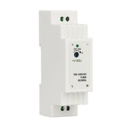 Power Supply Switching DR-15 15W Single Output Din Rail White Practical Durable