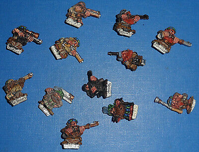 Games Workshop Citadel/Marauder Warhammer Dwarf Thunderers Multi-List oop