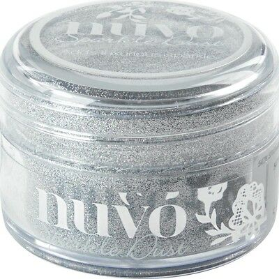 Nuvo Sparkle Dust .5oz -Silver Sequin (CLEARANCE ITEM)