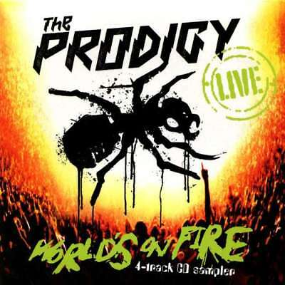The Prodigy Live - World's On Fire CD Take Me To The Hospital 2011 NEW