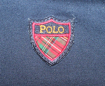 Polo Golf Ralph Lauren Men's Blue Polo Shirt Size Medium Pima Cotton