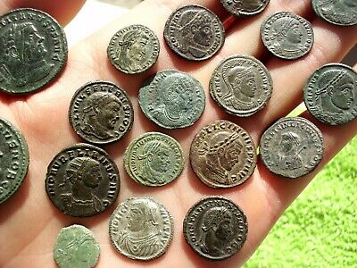 Superb Lot Of 21 Cleaned Ancient Roman Imperial Coins - Outstanding Lot!
