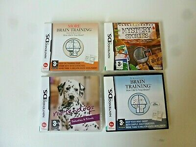 Job Lot of Nintendo DS Games Certificate 3+