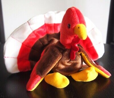 "Ty Beanie Babies ""Gobbles"" The Turkey DOB 27/11/1996 - Mint SPECIAL OFFER!!"