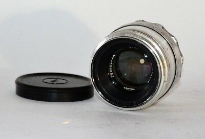 13-BLADES SILVER RUSSIAN USSR Helios-44 LENS f2/58 M39 for early ZENIT (1)