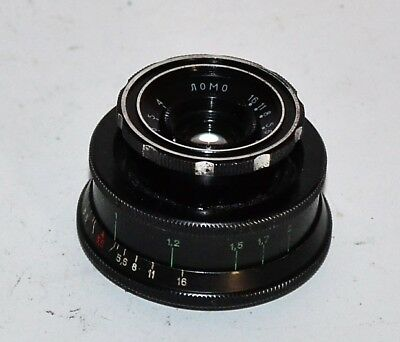 HAND MADE M39 mount RUSSIAN USSR LOMO T-43 f 4/40 LENS from SMENA-6 camera (1)