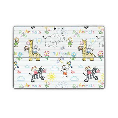 Animals are Friends Vinyl Skin Sticker Wrap Cover to fit Surface Pro Models