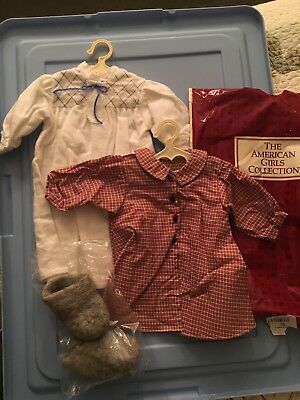 American Girl Kirsten Nightgown Set Complete with Socks