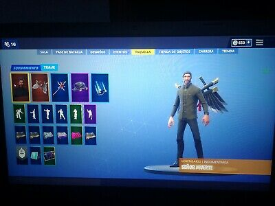 Cuenta Fortnite Pc, Ps4 Pase De Batalla 1-8 +Salvar Al Mundo+Skins