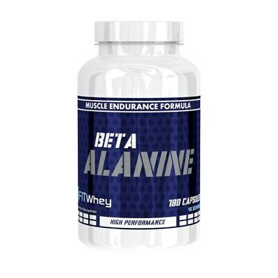 FitWhey Beta Alanine 180 Capsules with Taurine and Vitamin B6 - BBE 07/2018
