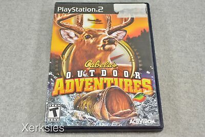 Cabelas Outdoor Adventure (Sony Playstation 2) Game (Tested and Working) 4960