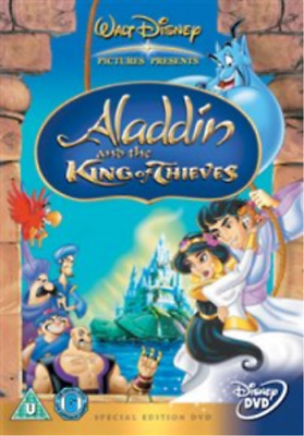 Aladdin and the King of Thieves (UK IMPORT) DVD [REGION 2] NEW