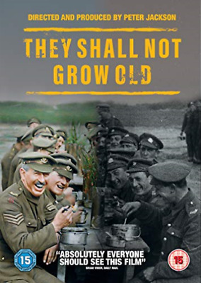 They Shall Not Grow Old (UK IMPORT) DVD [REGION 2] NEW