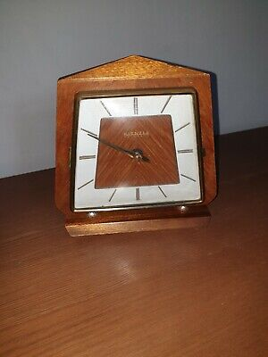Wooden CLOCK KIENZLE AUTOMATIC, Made in Germany, Retro